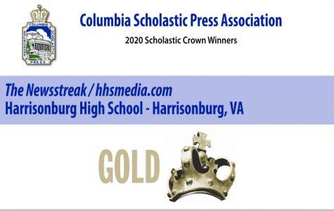 The Newsstreak receives Gold Crown Award