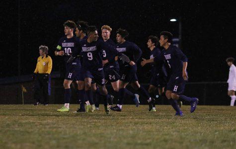 Boys varsity soccer defeats Fluvanna 3/6/20