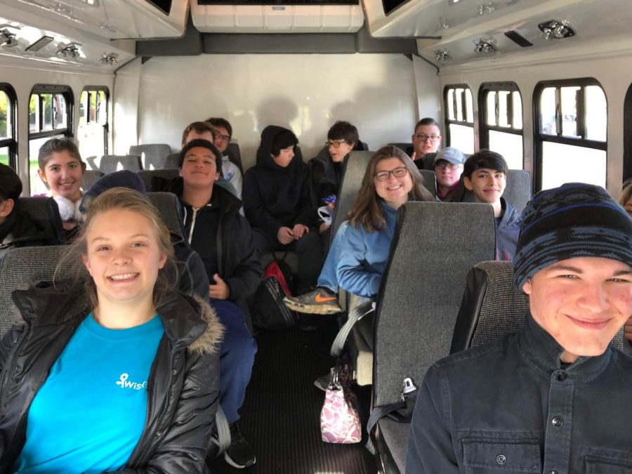 Engineering students prepare for a field trip to Green Bank, West Virginia in 2018. While some classes have ample opportunities for field trips, others never give students the chance.
