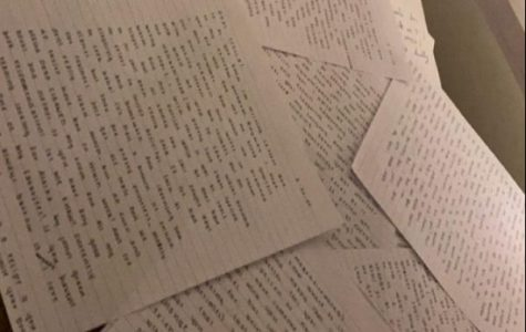 Fornadel wrote a total of 34 letters to friends, often writing about two pages for each person.