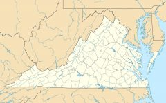 A map of the state of Virginia. Virginia's slogan is,