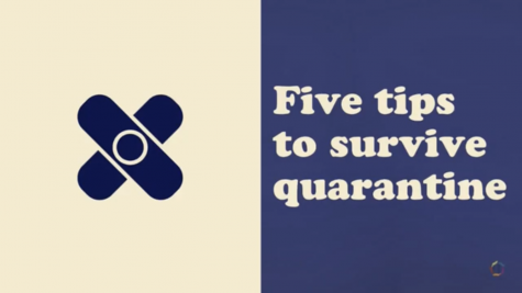Five tips to survive quarantine