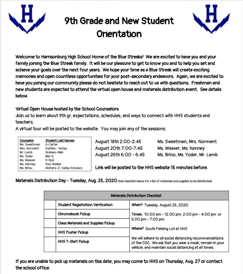 Flyer for more information