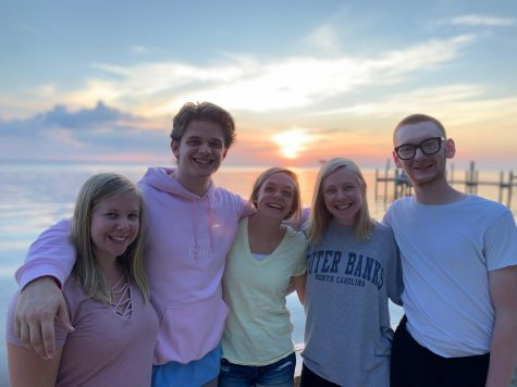"Freshman Annie Poirot went to the Outer Banks with her family over summer break from June 28th to July 5th.  According to Poirot, her trip was super fun, but she does have a favorite part. ""[Spending time] with my whole family was really special since it"
