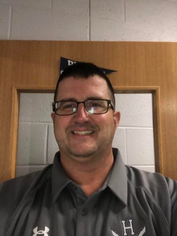 Athletic director Brandon Burley oversees all sports for Harrisonburg High School.