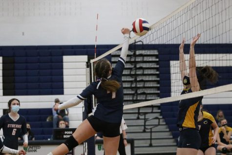 JV Volleyball takes on Culpeper County at home