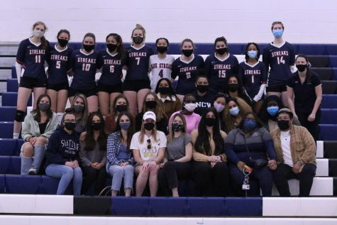 On Mar. 22, 2021 the volleyball team and alumni came together to honor the passing of teammate Paula Moreira.