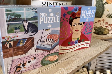 Along with the other COVID-19 friendly activities, Lady Jane also has many puzzles.