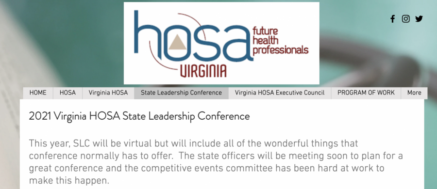 HOSA wins multiple recognitions at VA State Leadership Conference