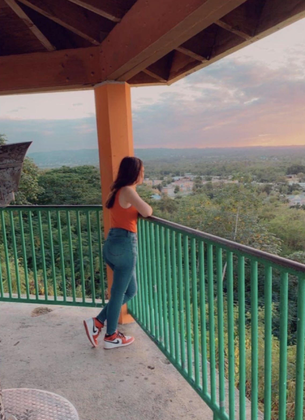 Freshman Alondra Vargas spends time in Puerto Rico. Vargas is proud of her heritage and loves that she is able to speak two languages.