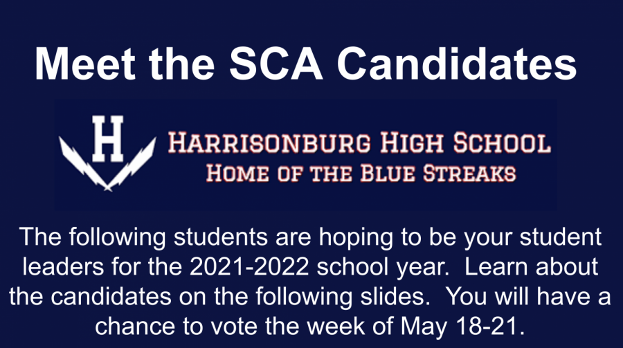 SCA candidates announced with elections starting May 18