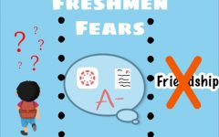 Before entering their first year of high school in  a virtual setting, many freshmen had fears of the new experiences to come.