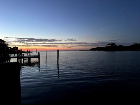 An Outer Banks sunset.