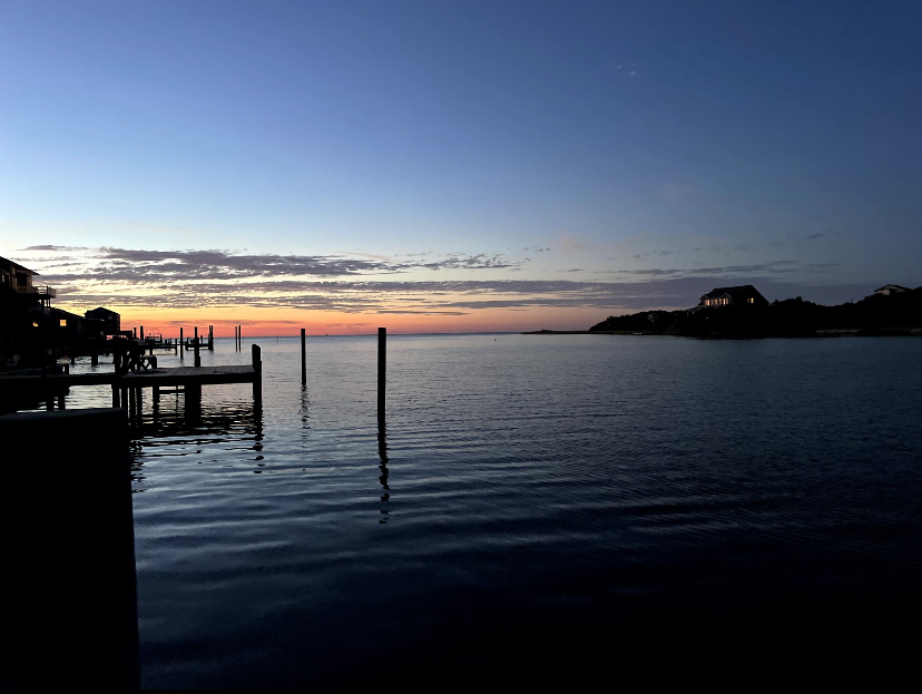 An+Outer+Banks+sunset.+