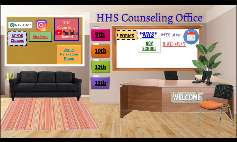 The counseling website includes links to meet with counselors as well as information specific to each grade. Relaxation techniques and mindfulness exercises can also be found on the website and are ways that Cantwell and other counselors are working to help provide students with resources to improve mental health.