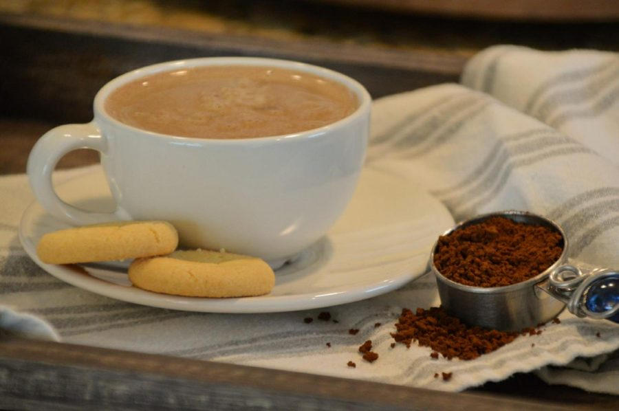 Many people like to pair their cup of coffee with a sweet treat.