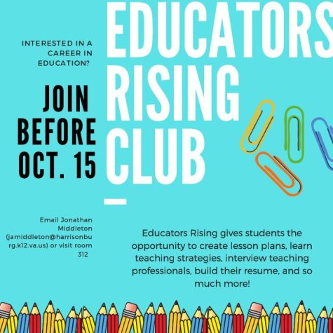 Join the Educators Rising Club to learn more about a future career in education.