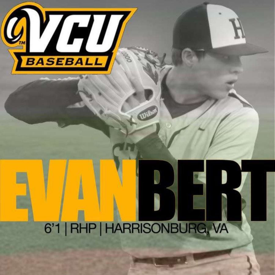 Bert commits to play division one baseball for VCU Rams